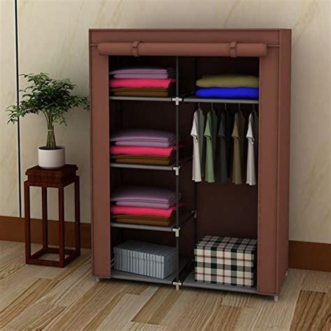 Cloth Closet Organizers by 42 Quot Diy Portable Closet Wardrobe Non Woven Fabric Cloth