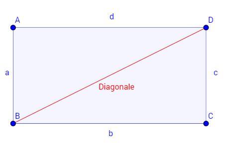 diagonale von vierecken und quadraten berechnen