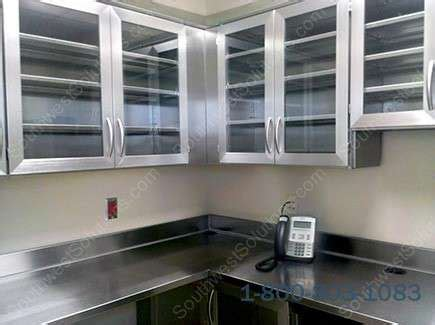 stainless steel wall cabinets kitchen impressive stainless steel wall cabinets kitchen pharmacy 8301