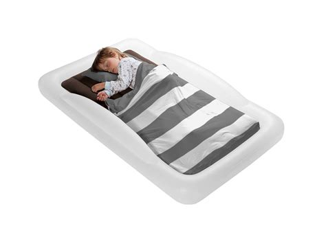 travel toddler beds vacation bed sleeping sleep shrunks boy tote inflatable