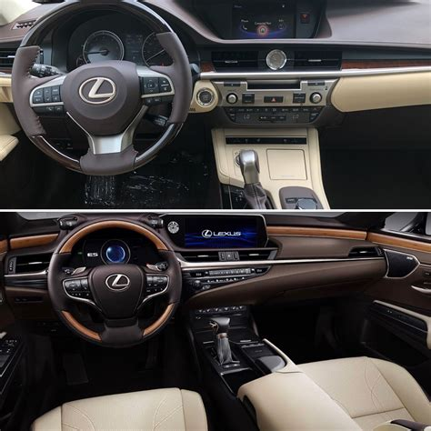 Compare Lexus Models by Compare The 2018 Lexus Es To The Updated 2019 Model That S