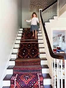Escalier Bois Pas Cher : le tapis pour escalier en 52 photos inspirantes ~ Premium-room.com Idées de Décoration