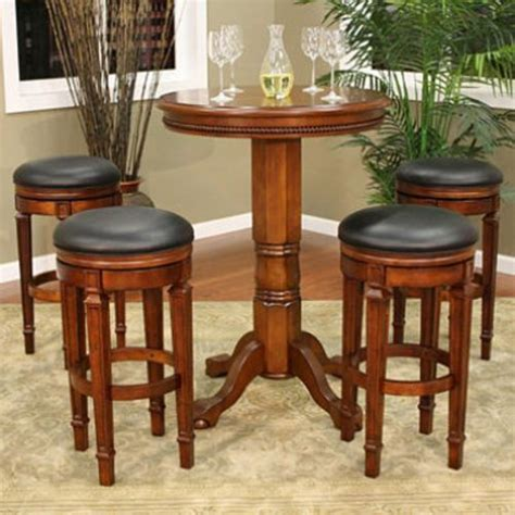 new pub table set and bar stools room furniture