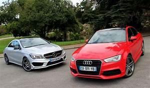 Quelle Audi A3 Choisir : essai comparatif audi a3 berline vs mercedes cla ~ Medecine-chirurgie-esthetiques.com Avis de Voitures