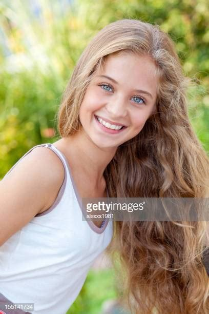 Year Old Blonde Girl Stock Photos Pictures Getty