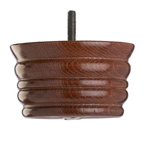 wooden sofa foot mm  mm mahogany finish