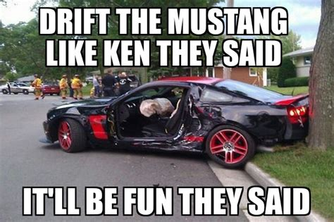 The Mustang Can Be Drifted, It's Just Important Who's