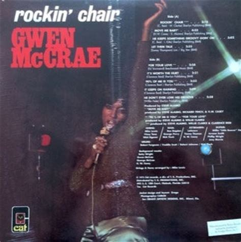 Gwen Mccrae Rockin Chair Album by Gwen Mccrae S T Funk O Logy