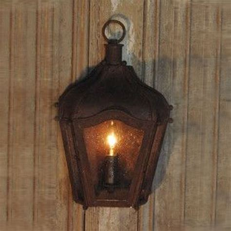 lantern sconce indoor rustic brown iron carriage wall lantern indoor outdoor