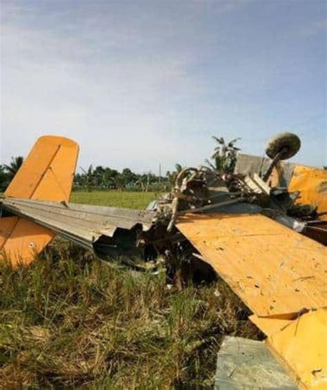 pilot dies  plane crash sunstar