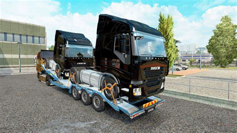 semi trailer car carrier with cargo trucks for euro truck