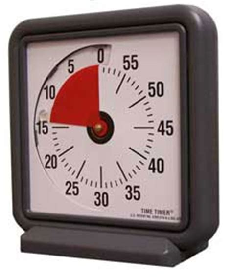 Amazoncom Visual Time Timer For The Classroom Or Home Study Home & Kitchen