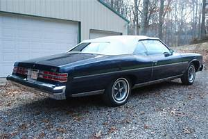 1975 75 Pontiac Grandville Convertible Brougham One Owner