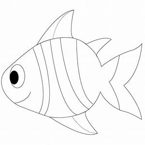 Simple Fish Outline | Clipart Panda - Free Clipart Images
