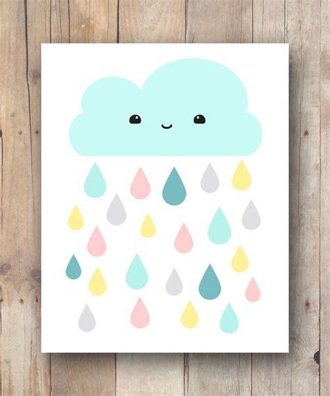 kawaii cloud printable for nursery and kids room 4 nursery printables pinterest kawaii