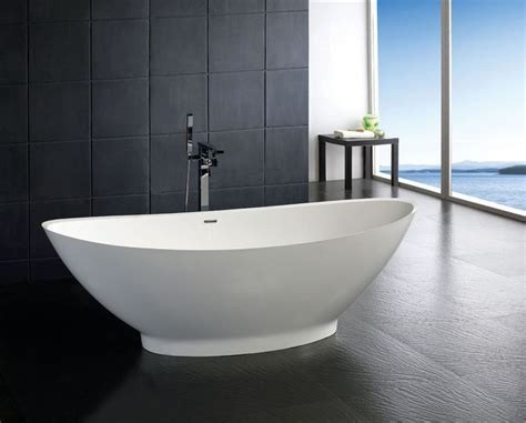 50 Inch Freestanding Bathtubs by Soaker Tubs Free Standing Resin Bathtub