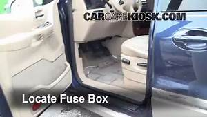 Interior Fuse Box Location  1999-2003 Ford Windstar