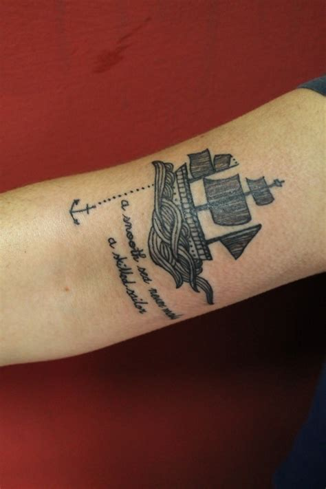 Boat Tattoo by Boat Tattoo Cute Tattoo
