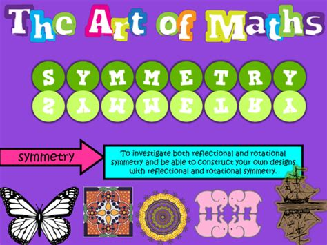 discover symmetry cross curricular maths and ks2 by