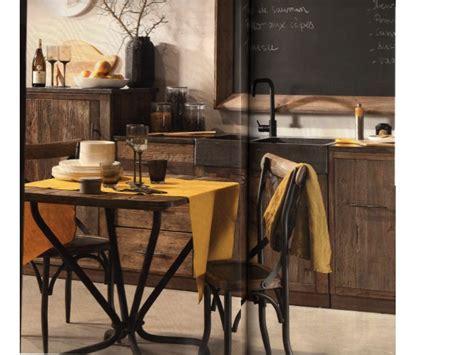 meubles cuisine bois brut facade cuisine bois brut palzon com