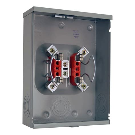 milbank 200 4 terminal ringless overhead underground meter socket r7040 xl tg pec the home