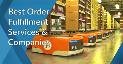 order fulfillment services companies