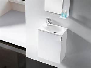 Waschbecken Und Unterschrank : badm bel g ste wc oporto waschbecken waschtisch handwaschbecken wenge weiss 40 ebay ~ Frokenaadalensverden.com Haus und Dekorationen