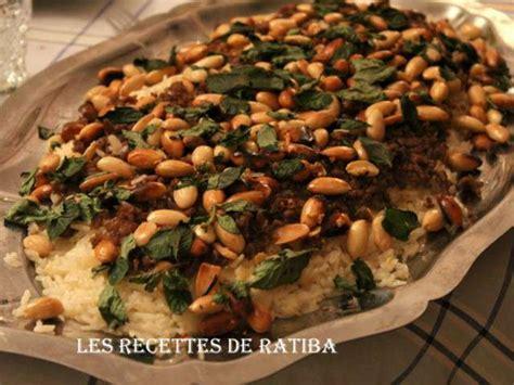 cuisine ratiba recettes de riz de ratiba