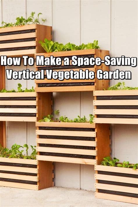 Can You Grow In A Vertical Garden by How To Make A Space Saving Vertical Vegetable Garden