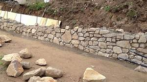 Opěrná zeď ve svahu