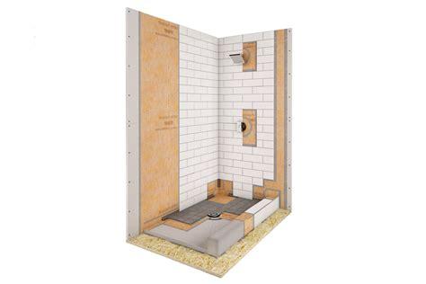 kerdi shower kit 32x60 schluter 174 kerdi shower kit kerdi shower kit shower system schluter com