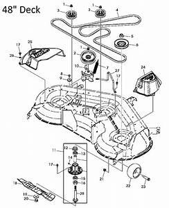 John Deere X140 Garden Tractor Spare Parts