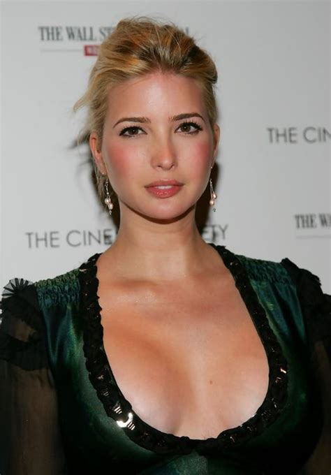 ivanka trump eric cinema society journal street wall screening host worth age husband boobs parents career donald daughter babel president