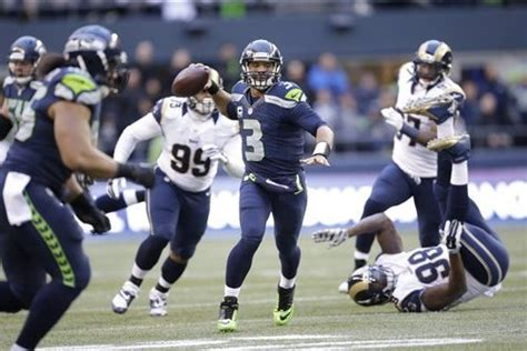 seahawks  rams full seattle game preview bleacher
