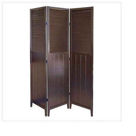 shop shutter door espresso  panel room divider  shipping today overstock