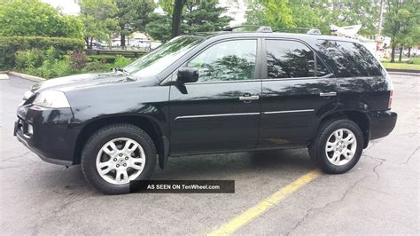 2004 acura mdx specs 2004 acura mdx touring package w fully loaded features