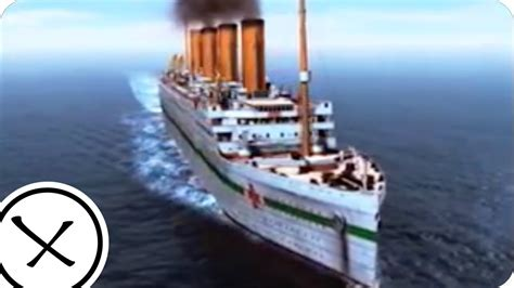 sinking of the britannic the sinking of the britannic