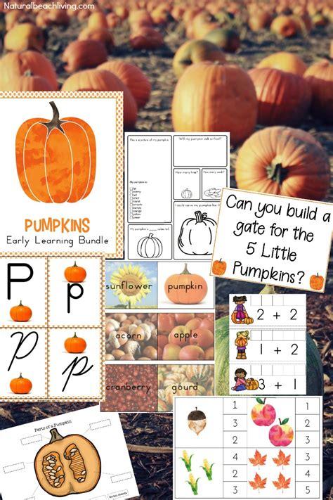 kindergarten and preschool pumpkin theme lesson plan 295 | Preschool Pumpkin Theme 2