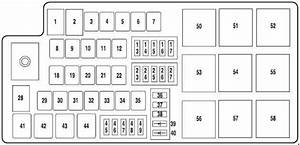 Ford Five Hundred  2004 - 2007  - Fuse Box Diagram