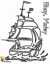 Ship Pirate Coloring Seas Printable Yescoloring Ships Colouring Boats Boys Sheet Pirates Battle sketch template