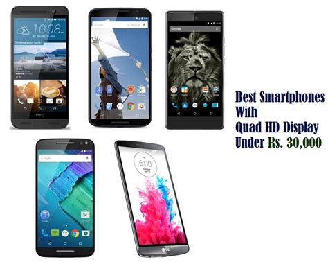 best smartphones with hd display rs 30 000