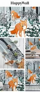 Fox, Snow, Walk, Wallpaper