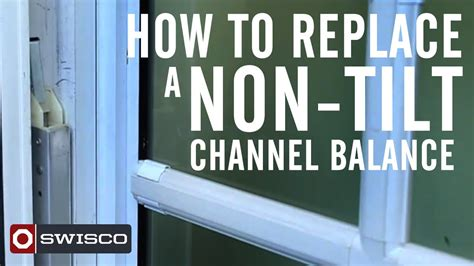 How To Replace A Nontilt Window Channel Balance Youtube