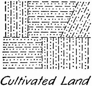 Cultivated Land Vegetation Topography Symbol
