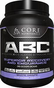 Core Nutritionals ABC White Grape Amino Acids - Beta ...