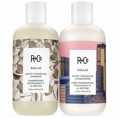 Dallas Shampoo Conditioner Thickening Biotin Randco Blonde