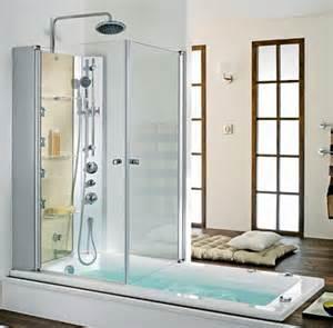 la derni 232 re tendance une baignoire douche c 244 t 233 maison