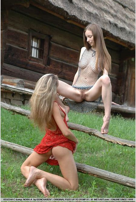 Ksucha and Nora in 'Similian' from MET-ART - Photo 16