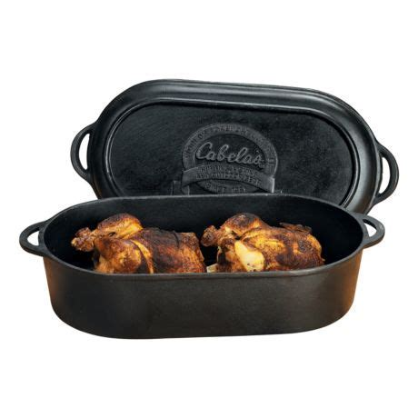 Cabela's Outfitter Series Cast Iron Oval Roaster/Griddle