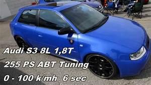 Audi S3 8l Abt Tuning 255ps 0 - 100 Km  H